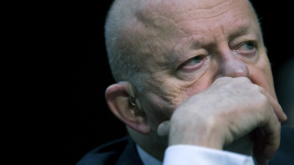 """Clapper said that by fall 2016, the intelligence realized that the Russians were running an enormous scheme that was """"unprecedented, aggressive, multifaceted,"""" he writes in his new book."""