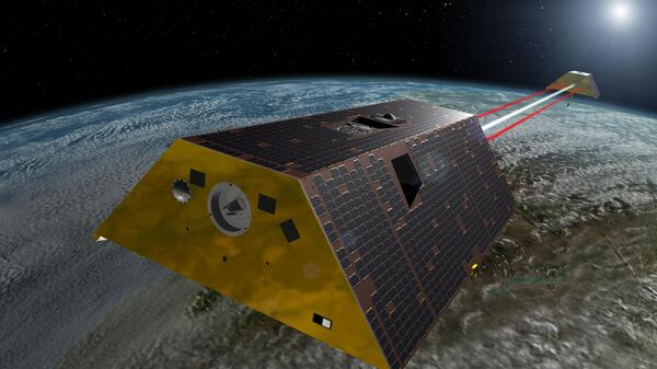 The Gravity Recovery and Climate Experiment Follow-On (GRACE-FO) mission will measure tiny fluctuations in Earth