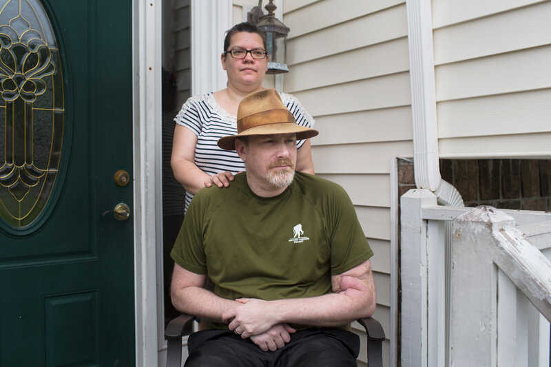 VA's Caregiver Program Still Dropping Veterans With Disabilities : NPR