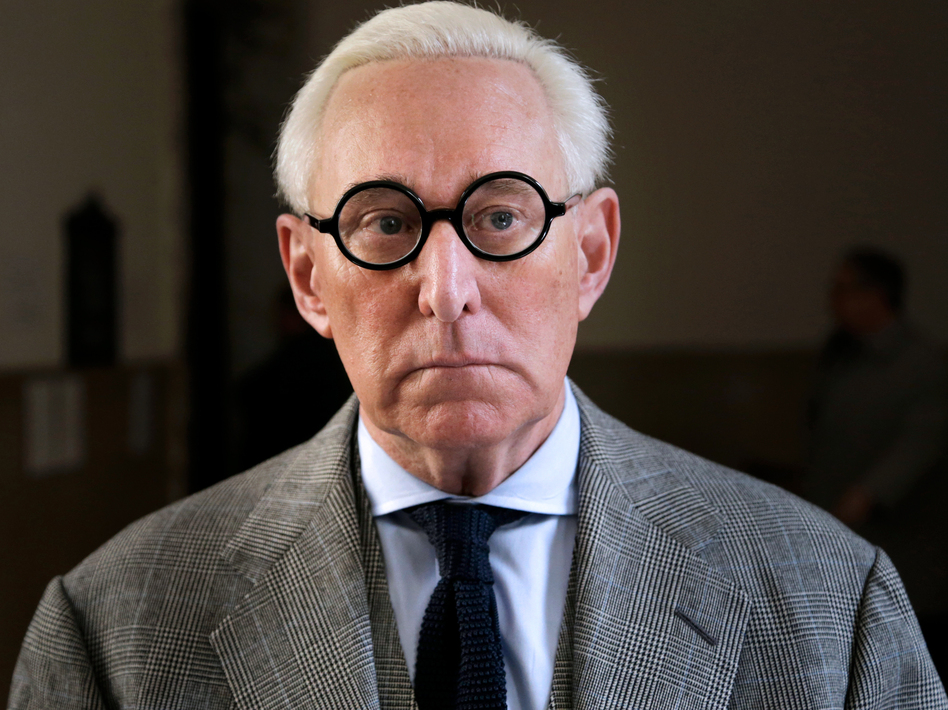 Roger Stone says that he is prepared for a Justice Department indictment if one appears but that investigators ultimately will find that he has done nothing wrong. (Seth Wenig/AP)