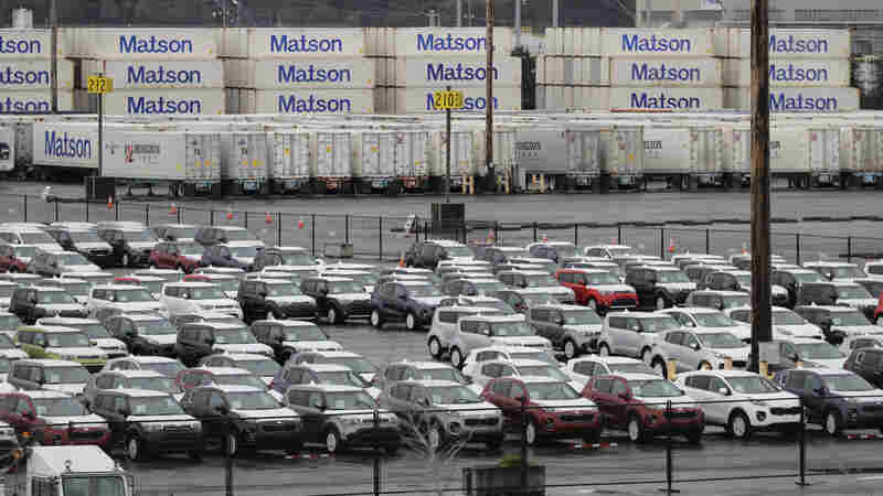 Trump Weighs Tariffs On Imported Cars