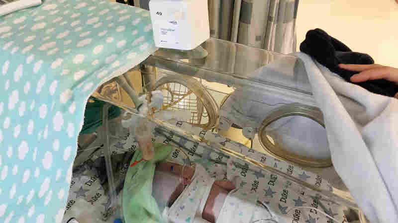Cameras On Preemies Let In Families, Keep Germs Out