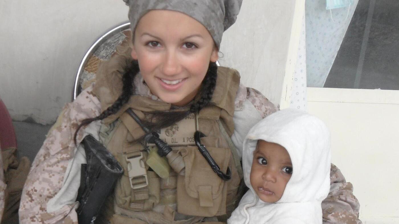 Battling Depression And Suicide Among Female Veterans : NPR
