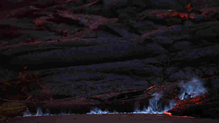 Kilauea's Latest Impact: Blue Flames And Beleaguered Residents