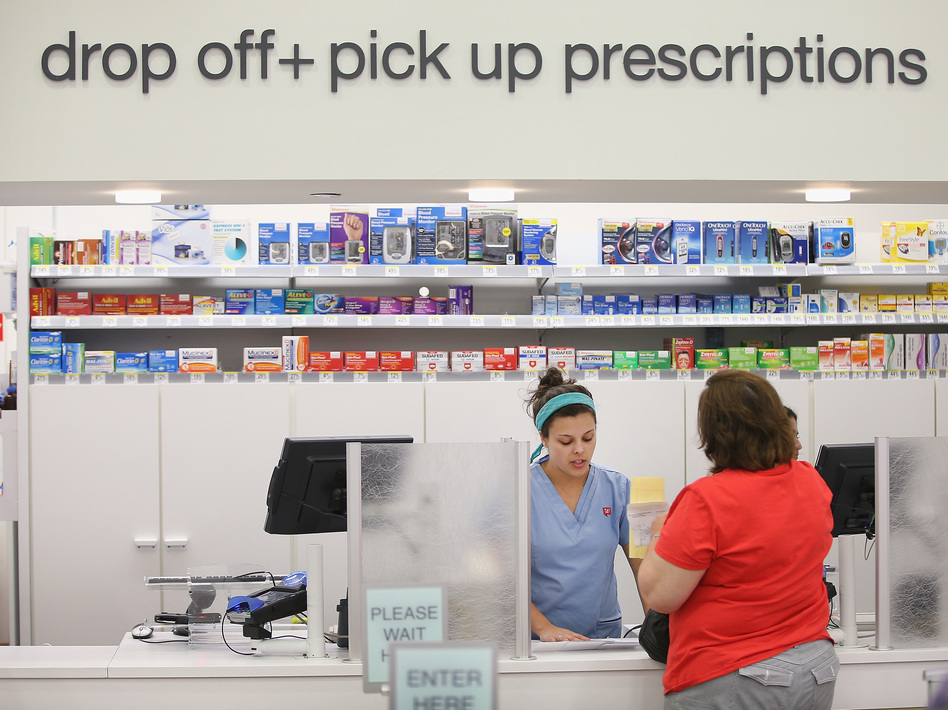 Many Medicare patients don't realize they can sometimes pay less out of pocket for a prescription drug if they pay cash, instead of the insurance copay. (Scott Olson/Getty Images)