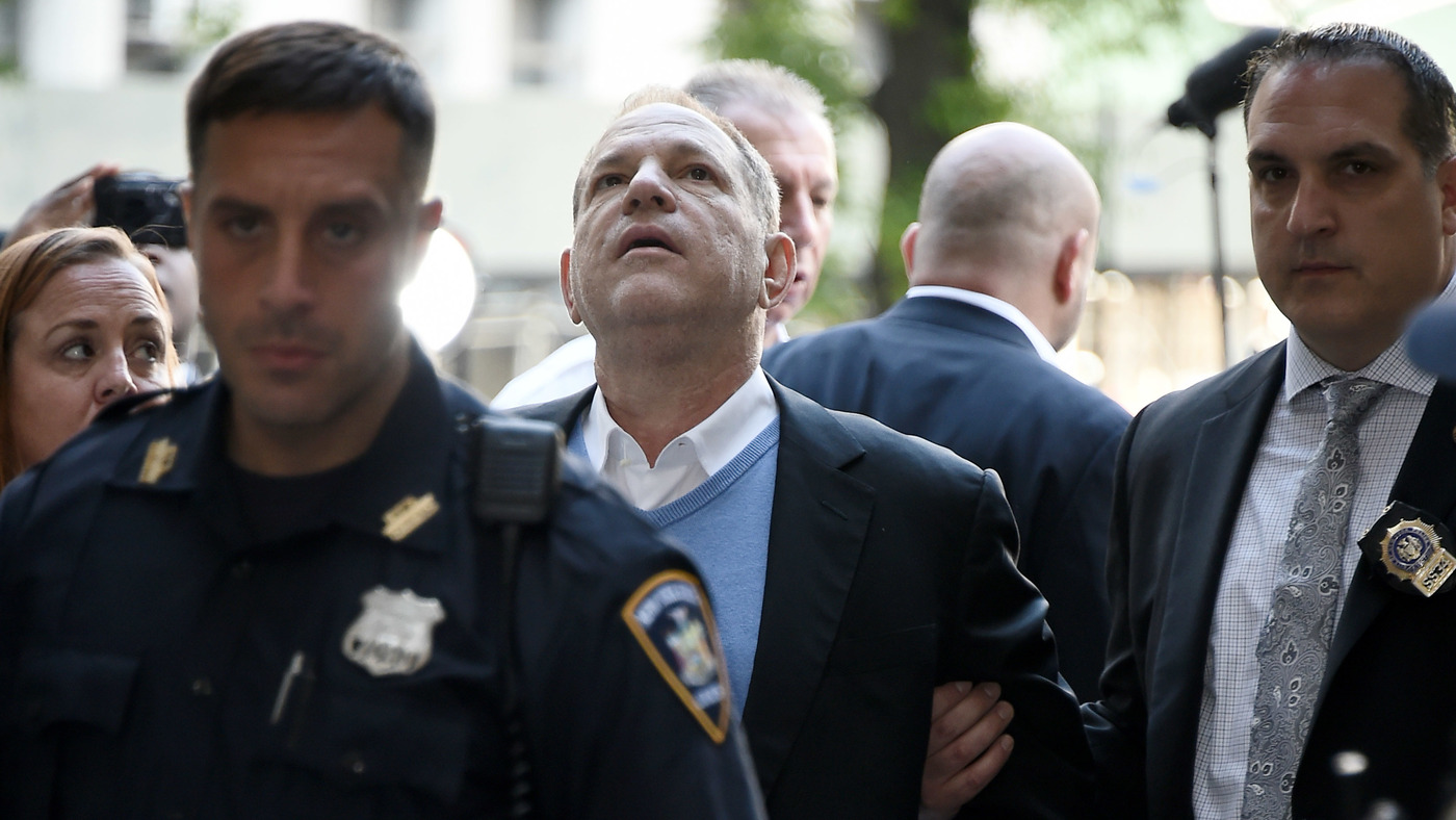 Harvey Weinstein Charged With Rape After Surrendering To N.Y. Police