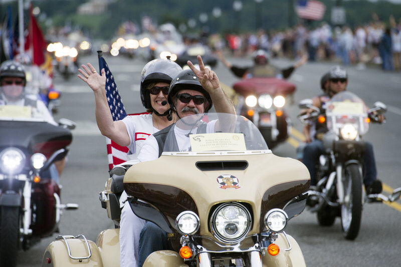 dcddab6fa04 Bikers From Across America Ride To Remember Soldiers  Unaccounted For