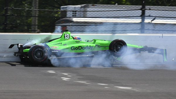 Danica Patrick s Career Ends With Crash At Indy 500