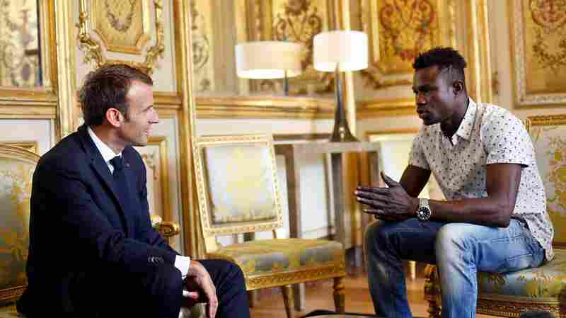 'Spider-Man' Scales Building To Save Dangling Child; Macron Offers Him Citizenship