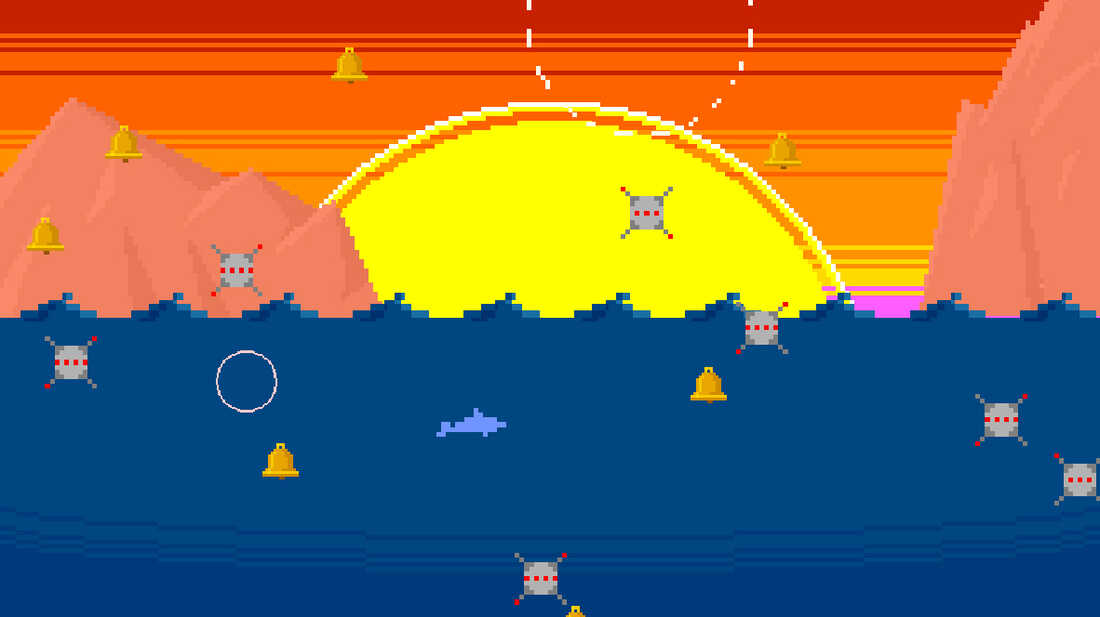 Flip And Fly A Dolphin In A Video Game For Robert Schneider's New Band