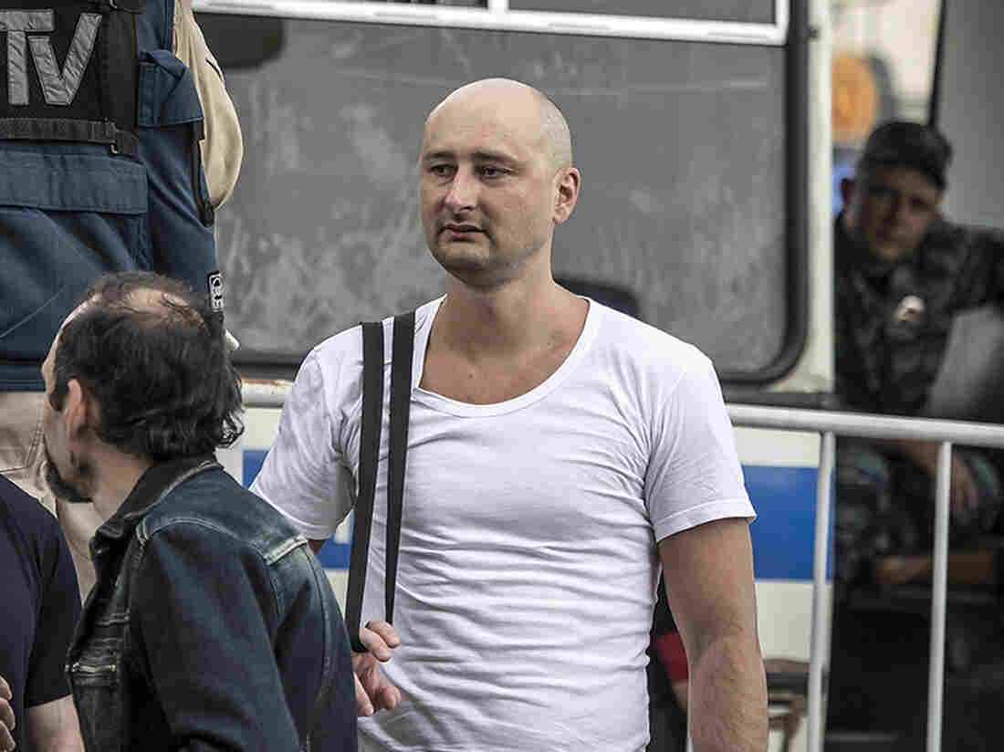 Ukraine accuses Russian Federation in Kiev assassination of journalist critical of Putin