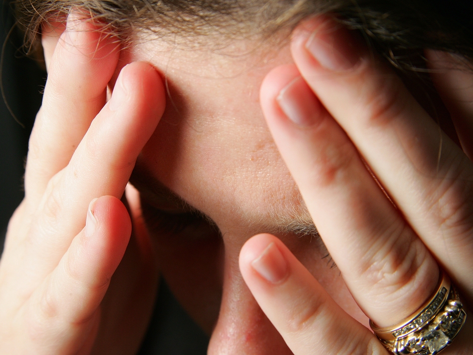 Concussions from domestic violence are sometimes overlooked in patient care. (MarkCoffeyPhoto/Getty Images)