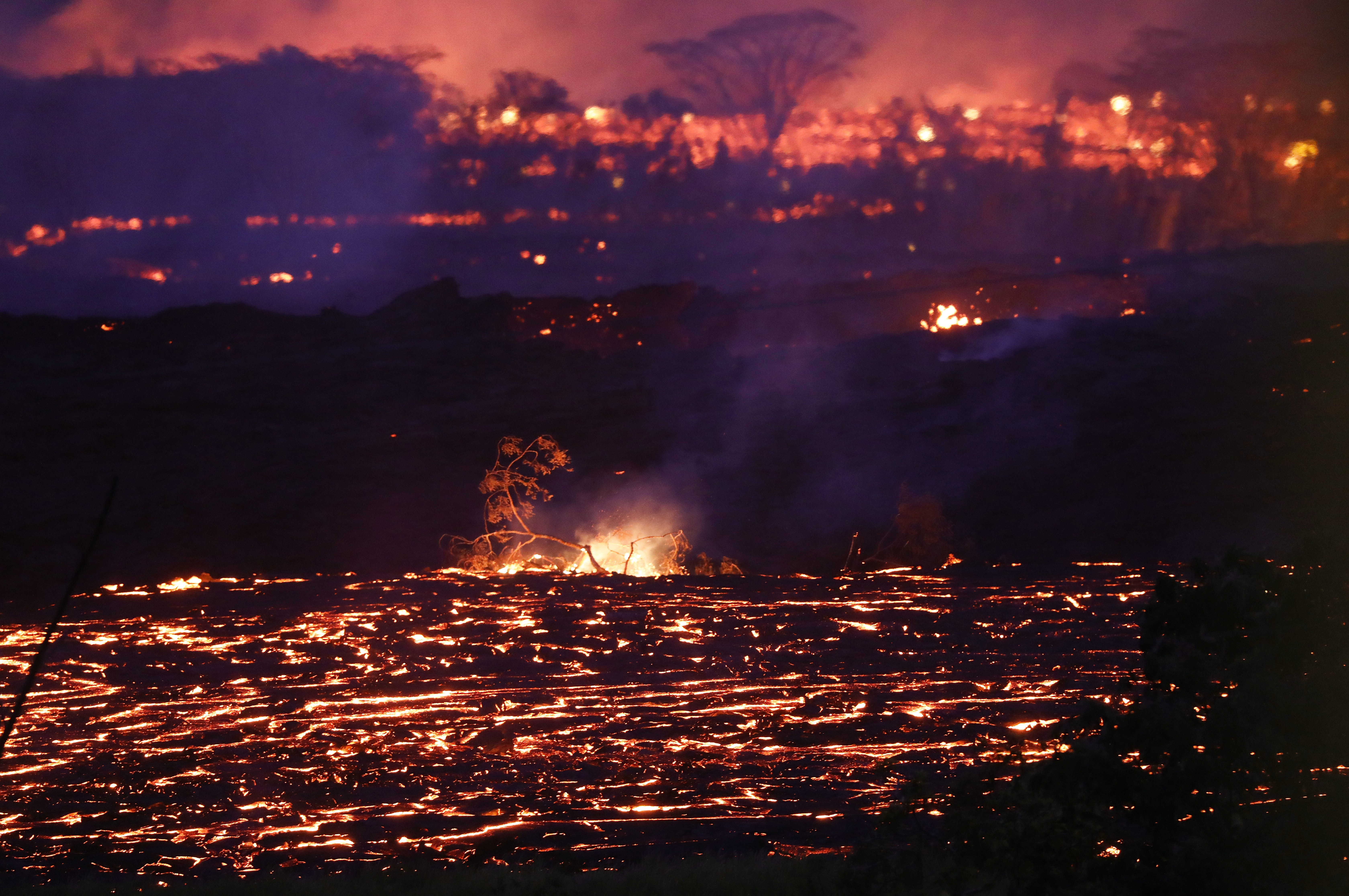 Finding Perspective In The Heat Of Hawaii's Volcanic Explosions