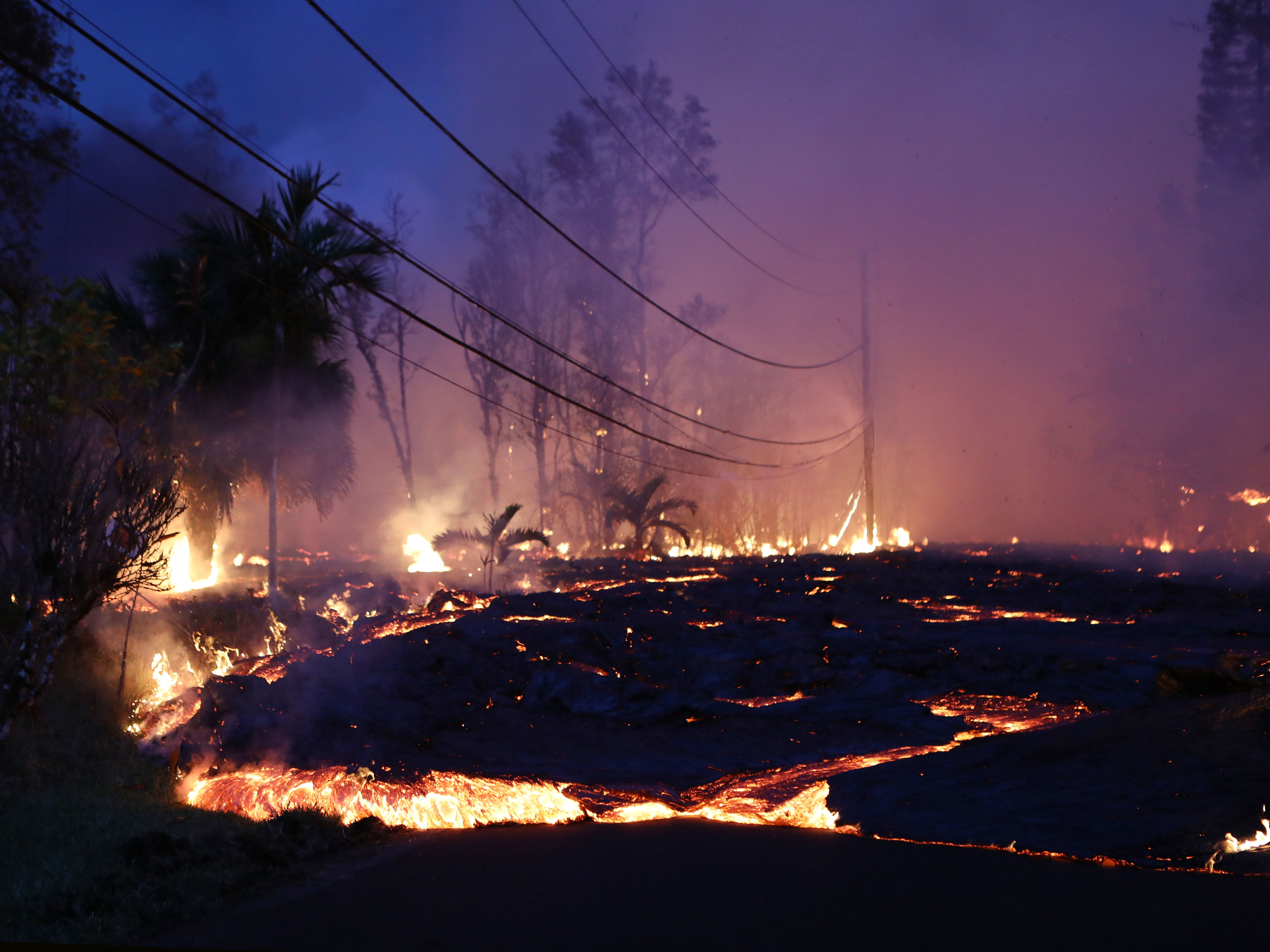 Kilauea's Fast-Moving Lava Threatens Another Community, Volcanic Haze Reaches Guam