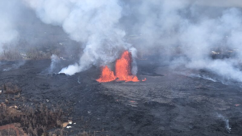 hawaii s volcanic eruption draws scientific interest npr