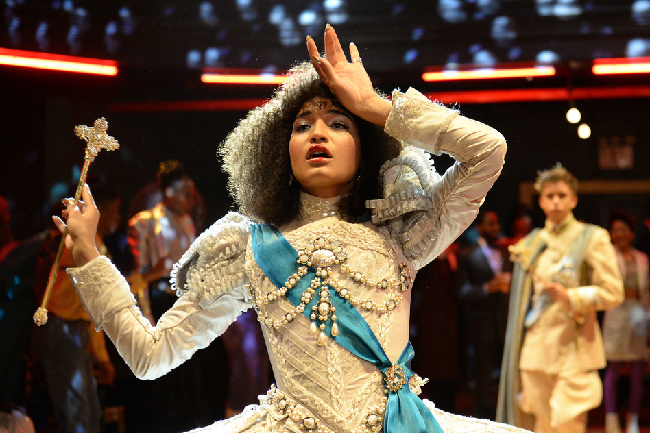 Indya Moore plays Angel in FX's <em>Pose</em>.