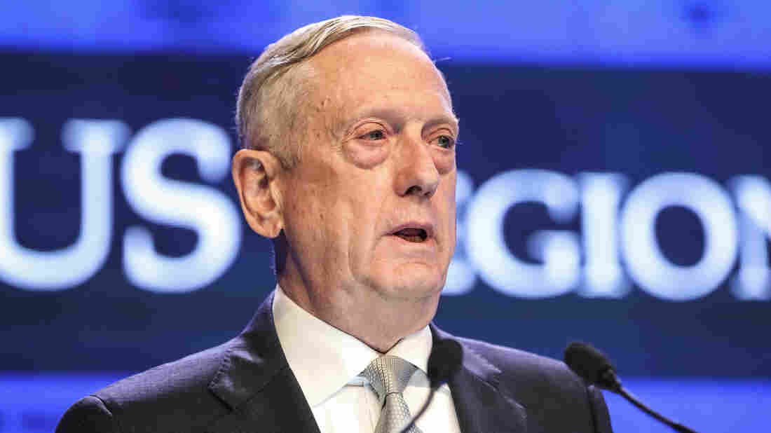 US defence chief decries Chinese 'intimidation'