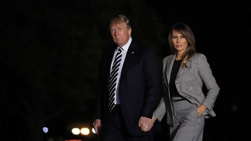 After weeks out of the public eye melania trump re emerges at white after weeks out of the public eye melania trump re emerges at white house event npr m4hsunfo