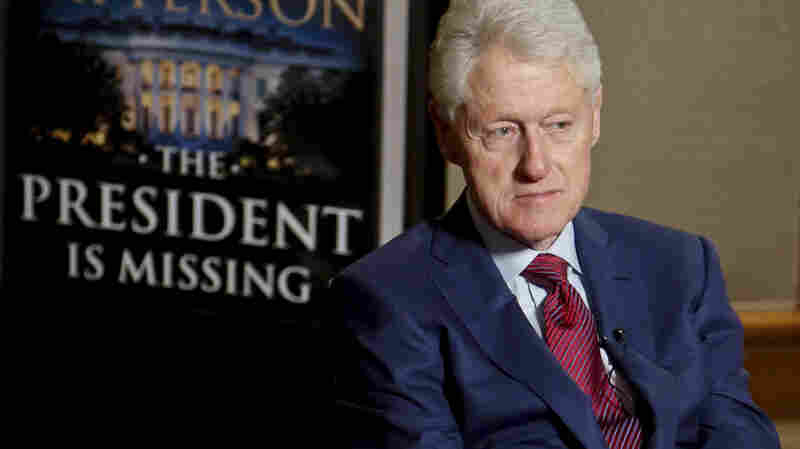 In Bill Clinton's New Thriller, A (Fictional) President Faces Impeachment