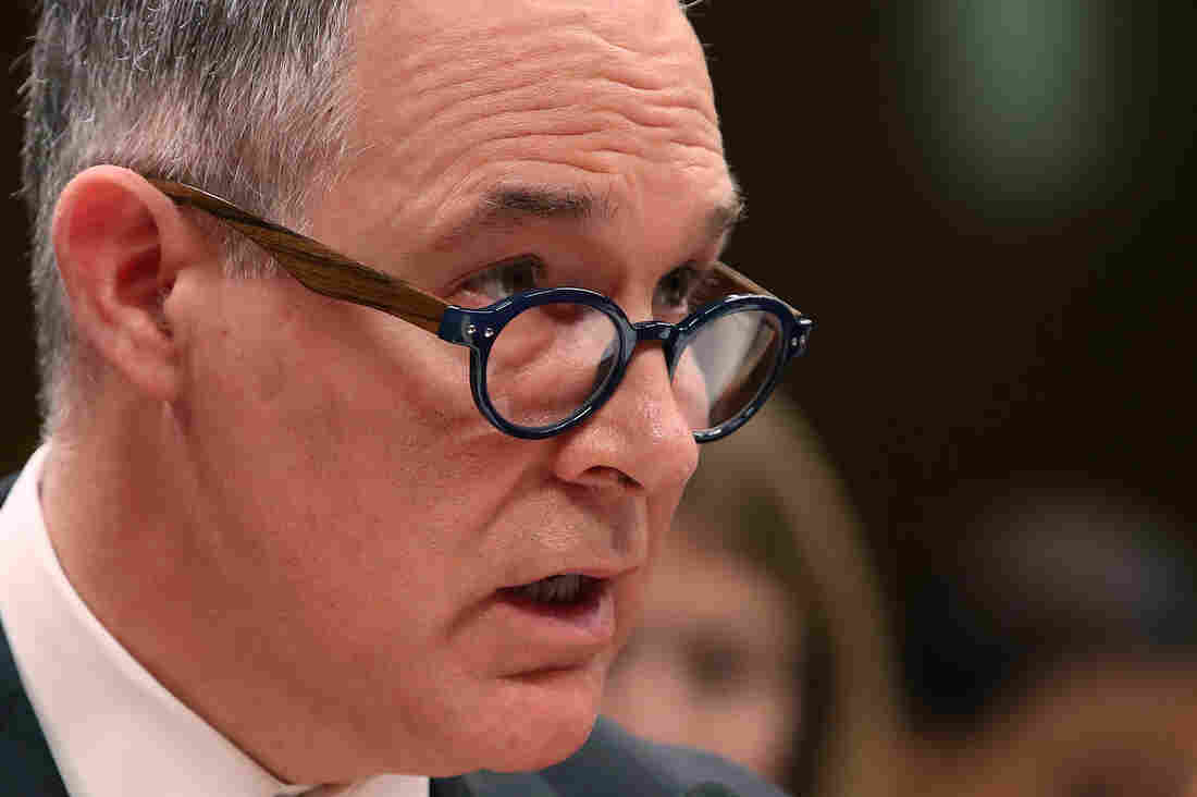 Scott Pruitt Is Sleeping Great These Days on a Trump Mattress