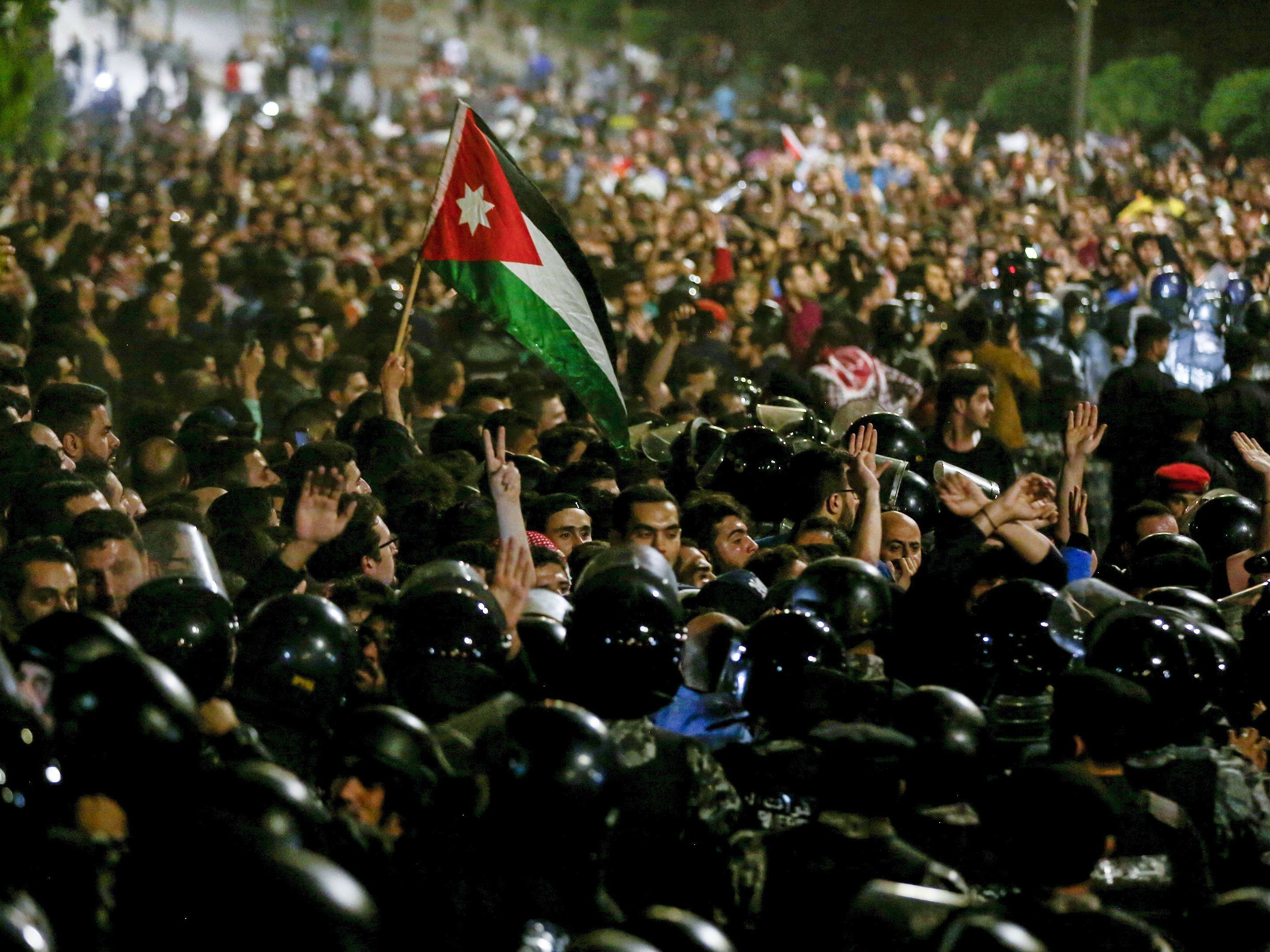 Jordan's Prime Minister Resigns Amid Protests Against Austerity : Parallels  : NPR