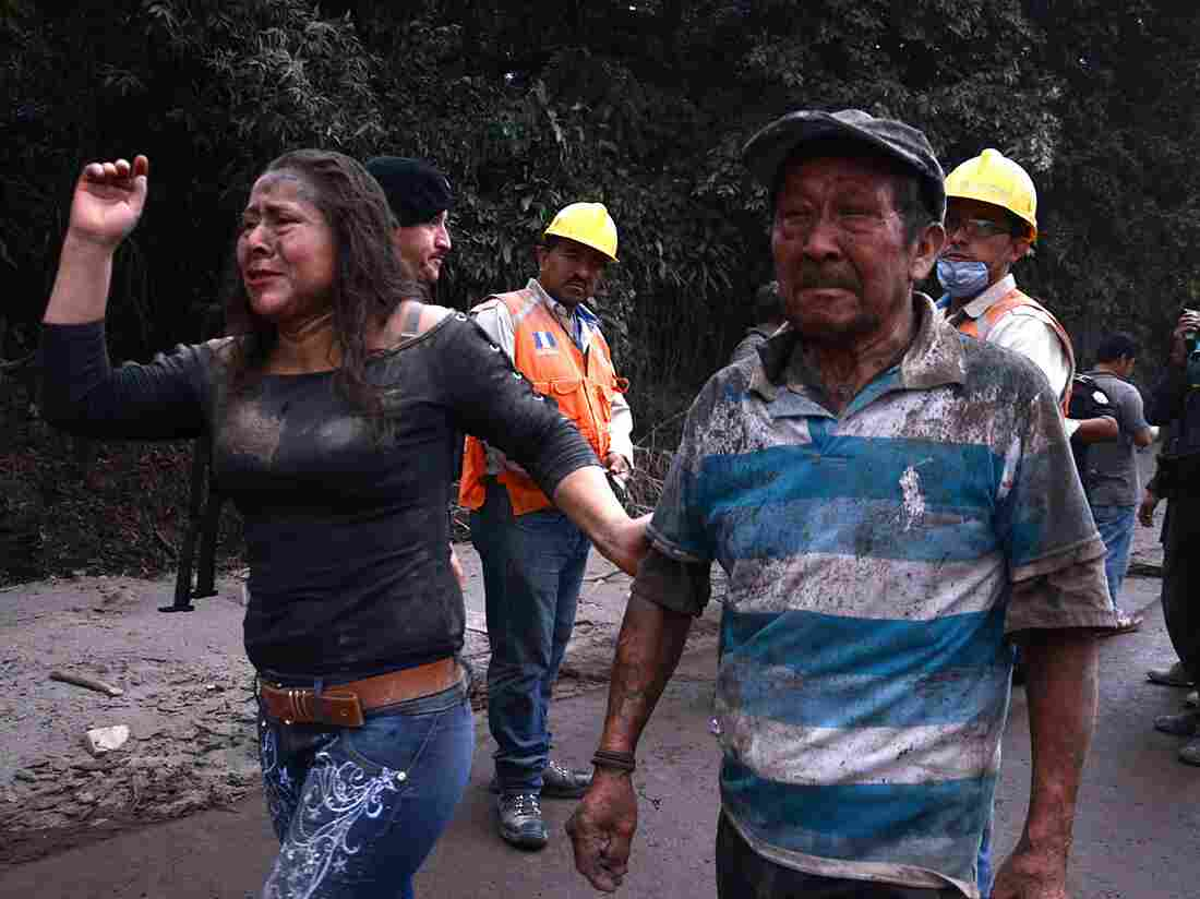 75 dead, hundreds injured by erupting volcano in Guatemala