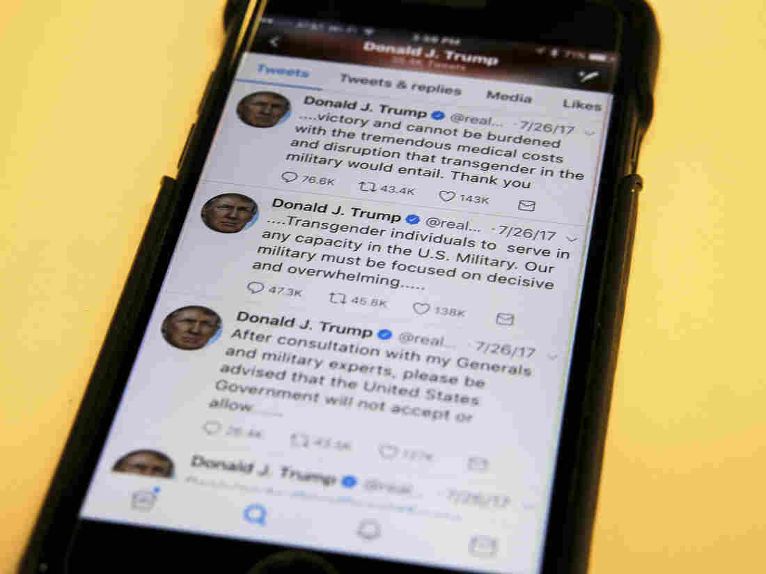Trump appeals ruling that bars blocking of his critics on Twitter