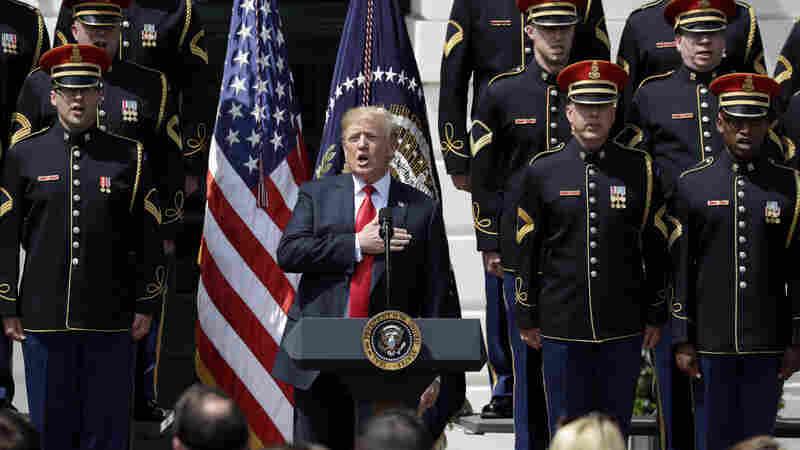 Trump Turns Philadelphia Eagles Event Into 'Celebration Of America'