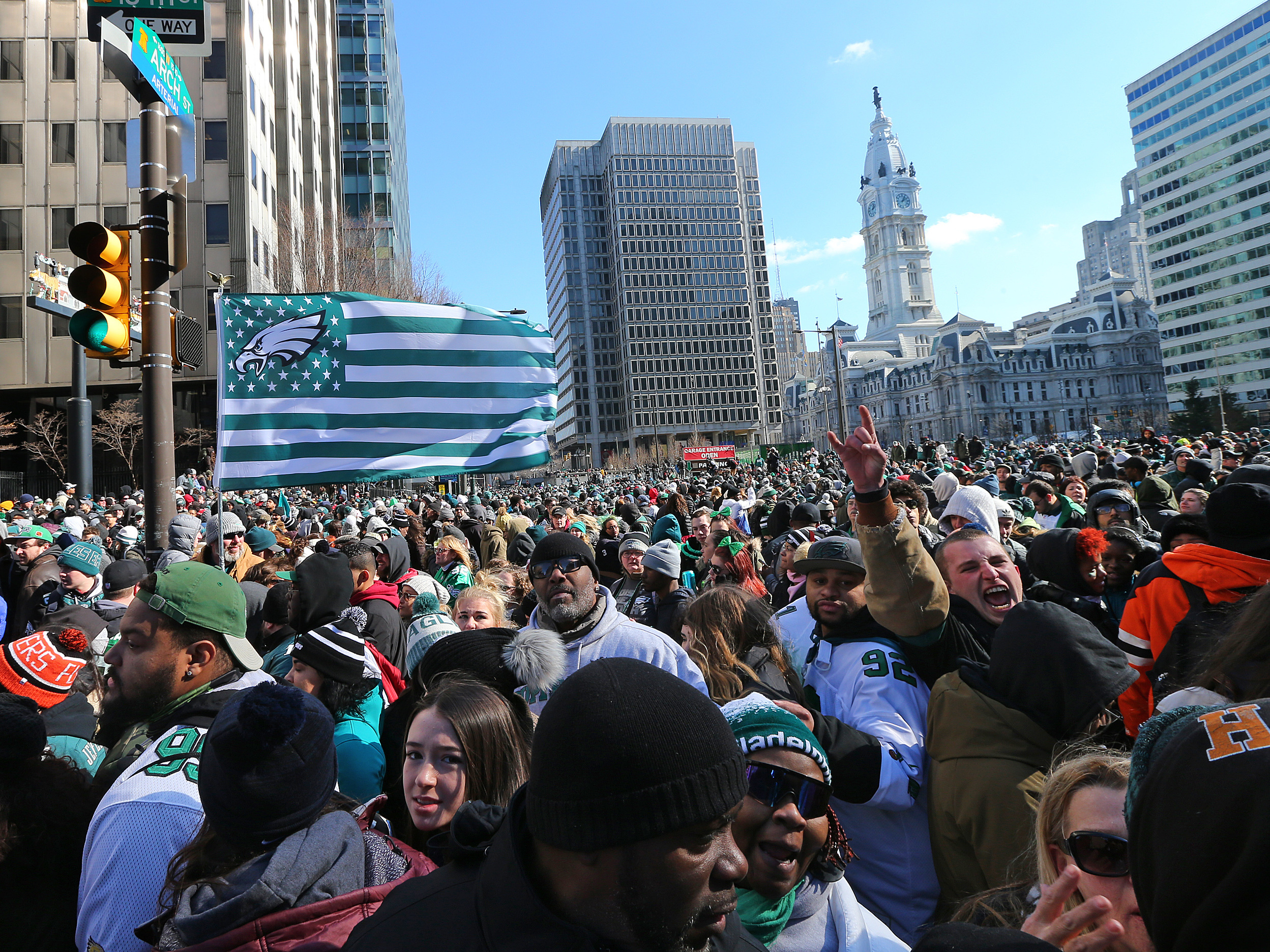 Trump Picks Fight With The Eagles; Philadelphia Takes It From There