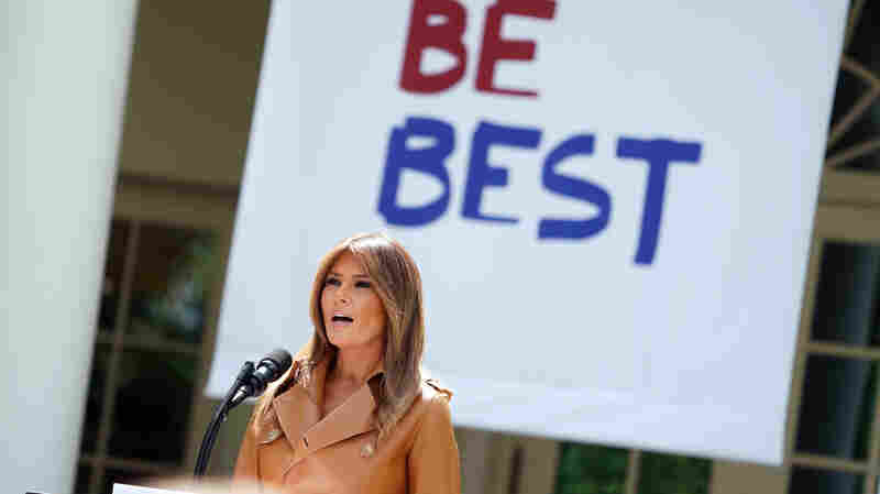 One Month Later, What's Become Of Melania Trump's 'Be Best' Campaign?