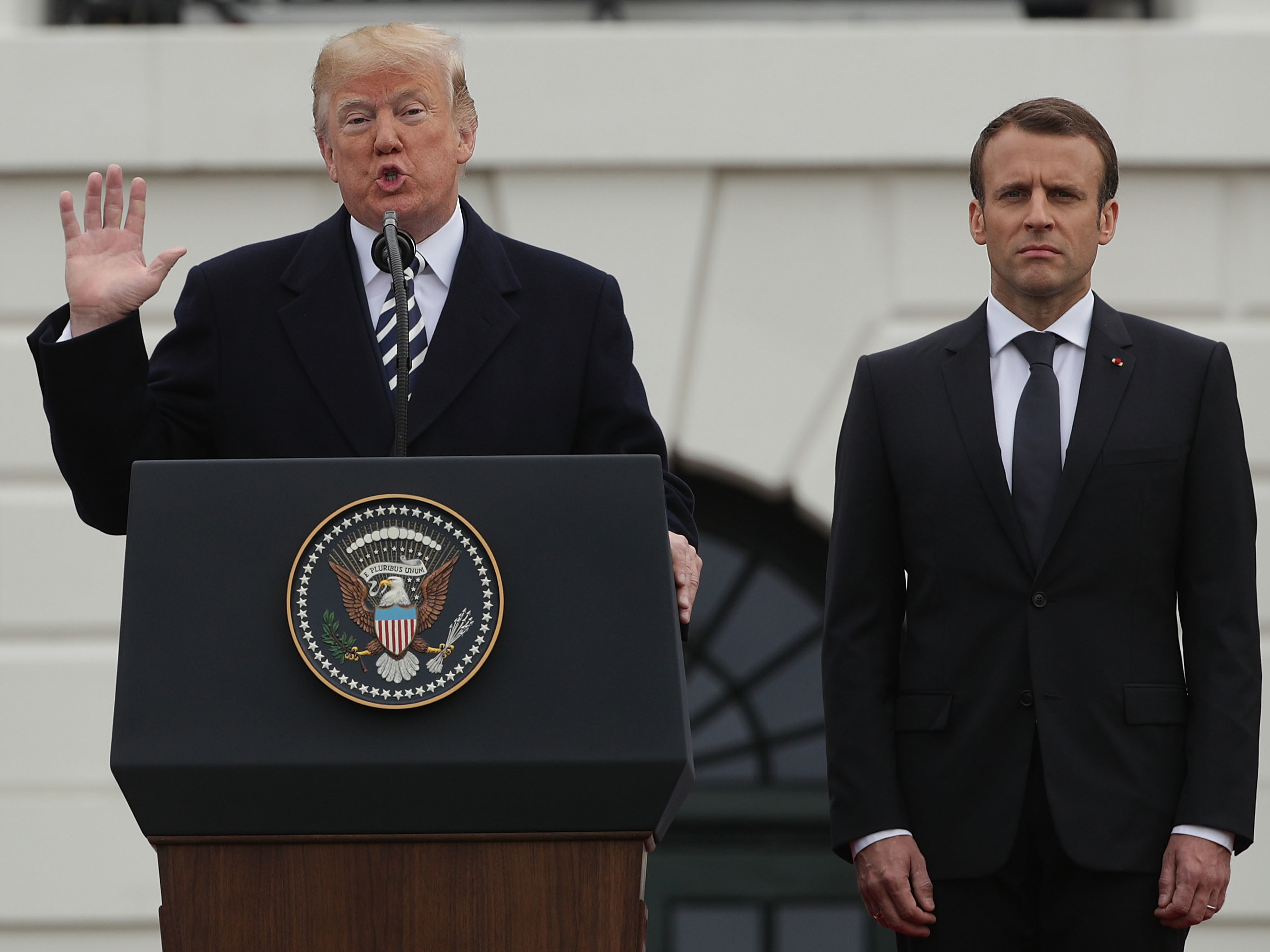 Talks with Trump are like sausages, says French President Macron: Report