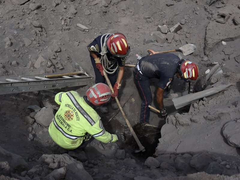Guatemala Volcano Toll Reaches 99 As Officials Point
