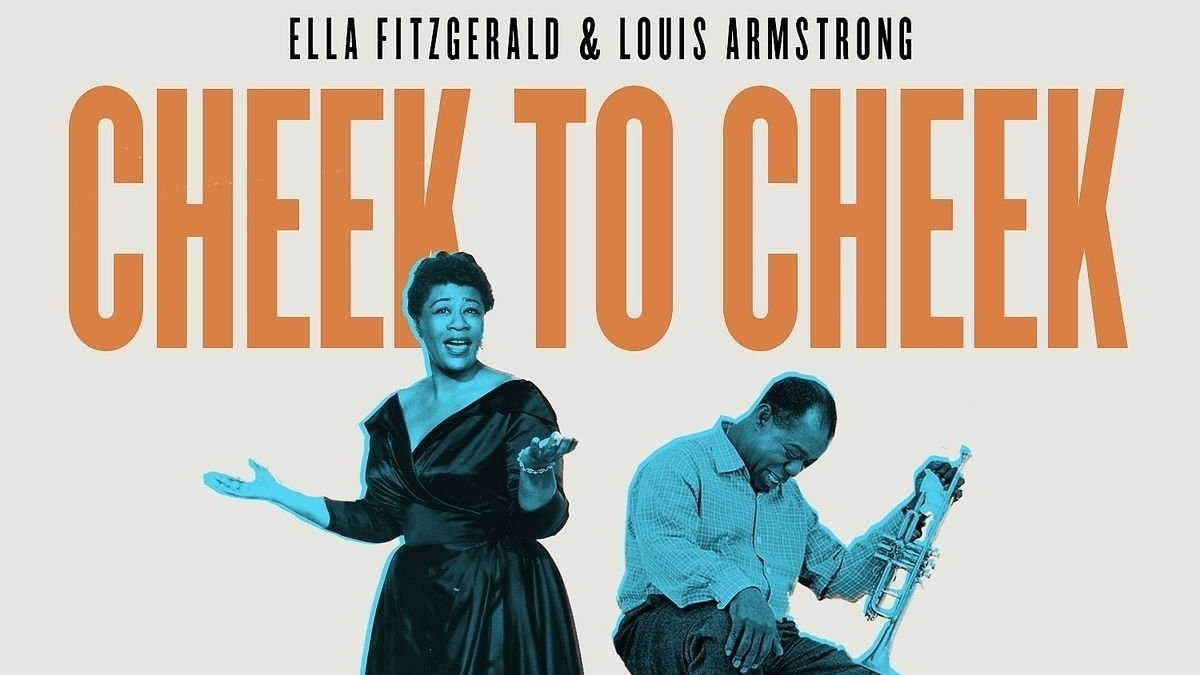 Ella Fitzgerald And Louis Armstrong Go 'Cheek To Cheek' On A New 4