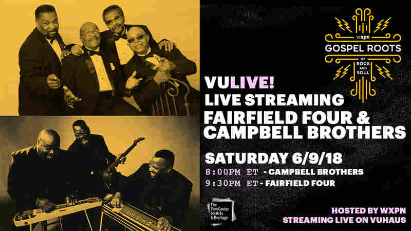 Watch The Fairfield Four & The Campbell Brothers Perform Live