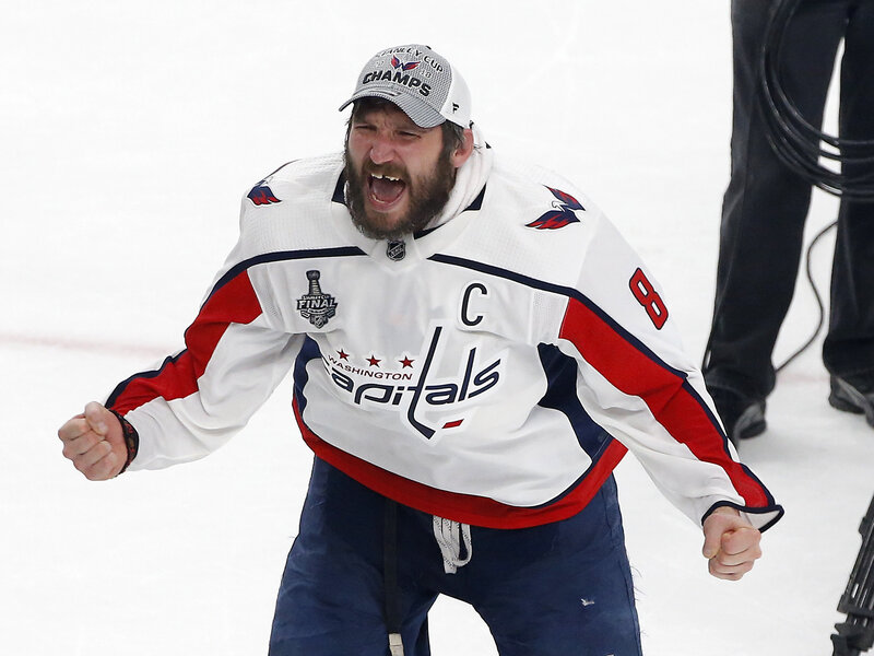 Washington Capitals Hoist First Stanley Cup After Dramatic Win Over Vegas cc1e91cc44f