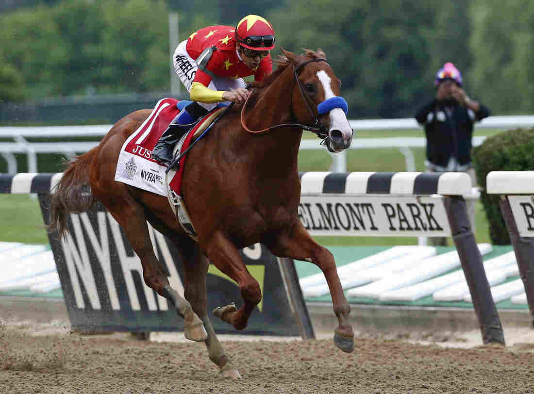 Justify wins Belmont Stakes, captures Triple Crown