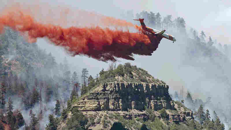 Dry, Windy Weather Stokes Colorado Wildfire, But So Far No Homes Damaged