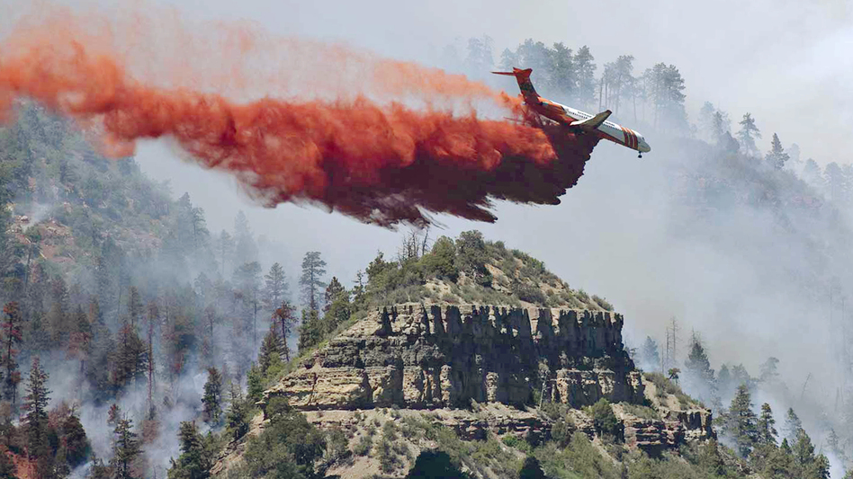Dry, Windy Weather Stokes Colorado Wildfire, But So Far No Homes