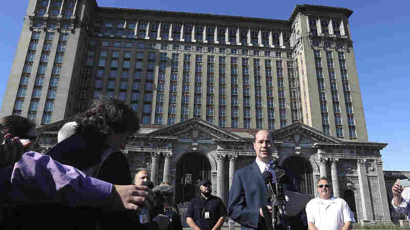 Once An Icon Of Detroit Decay, Historic Train Station Has New Owner: Ford