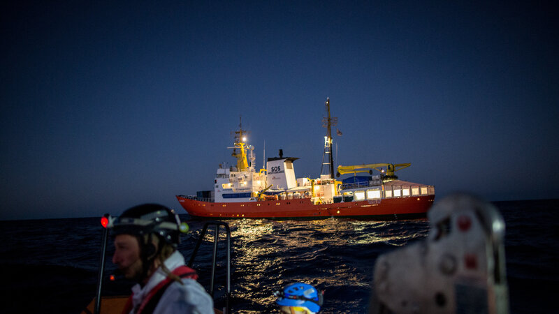 Spain Takes In Migrant Ship Stranded After Italy, Malta Refused To