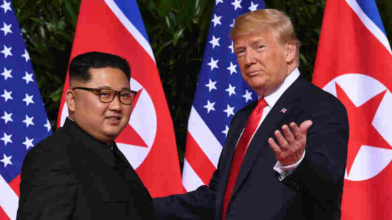 PHOTOS: Highlights Of The Trump-Kim Summit In Singapore