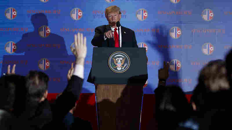 President Trump's Press Conference On North Korea Summit, Annotated