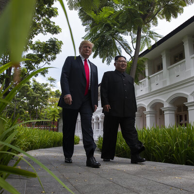 Friend Or Foe? Trump Takes On Allies As He Warms Up To North Korea
