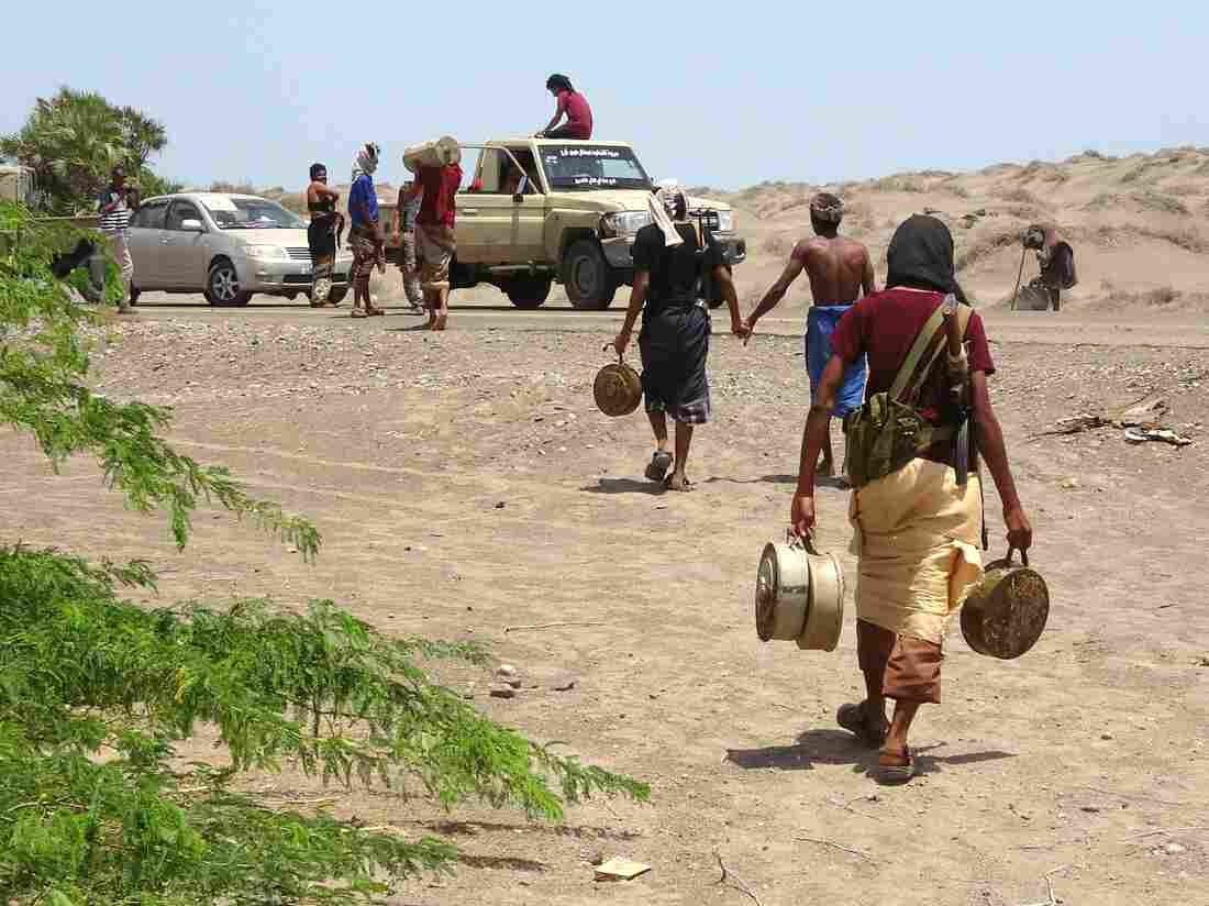 Arab states attack Yemen port key to feeding 8.4 million starving people