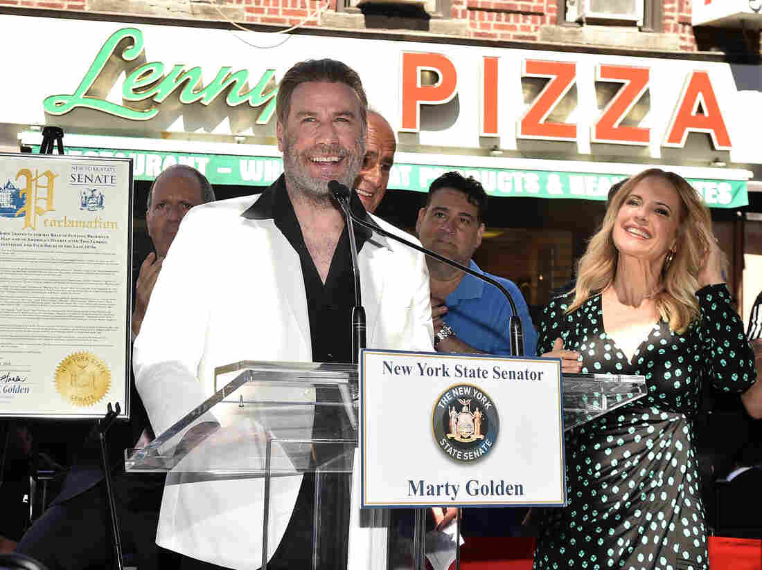 John Travolta celebrated in Brooklyn