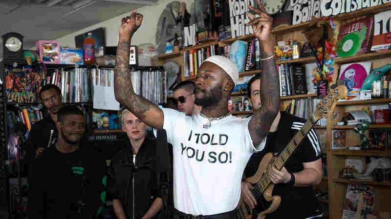 GoldLink: Tiny Desk Concert