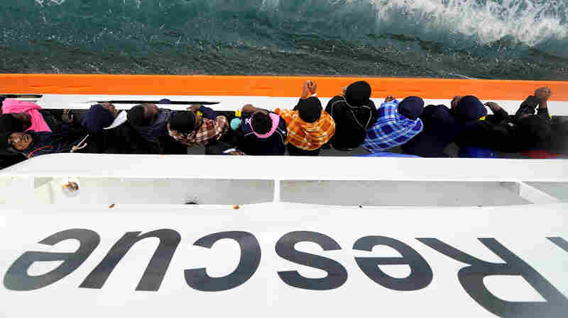 Migrant Ship, With Italian Support, Will Make Dayslong Journey To Spain