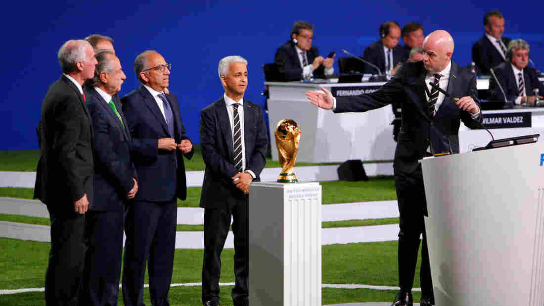 United States, Canada and Mexico to jointly host 2026 World Cup