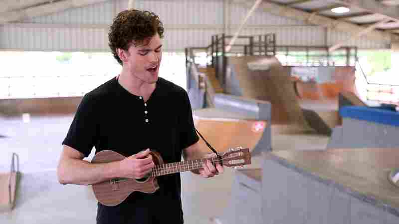 Watch Vance Joy's Pop-Up Show At A Skateboarding Park