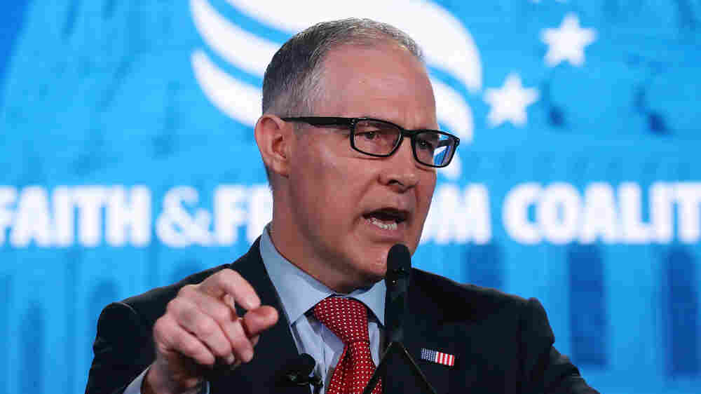 As The Scandals Mount, Conservatives Turn On Scott Pruitt